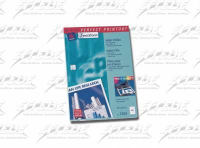 TRANSPARENCIA AVERY INKJET A4 X 50