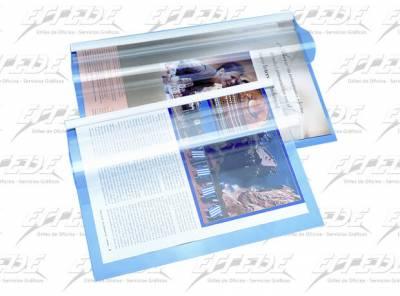 CARPETA PVC C/VAINA CRISTAL OF CLING 115