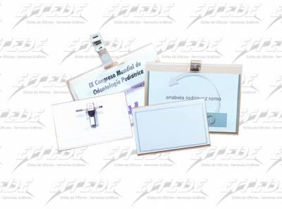 PORTACREDENCIAL CLIN 75 X 105 S/BROCHE