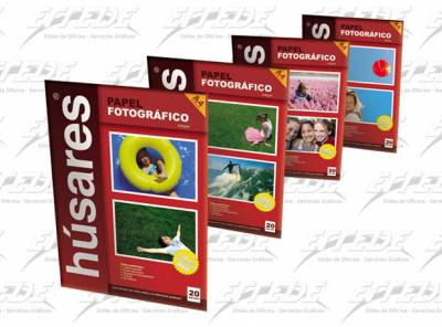 PAPEL HUSARES FOTO GLOSSY A4 230G*20