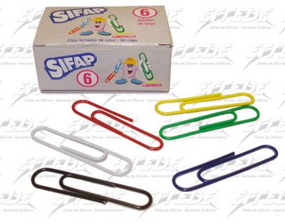 BROCHES CLIPS FORRADOS SIFAP Nº 6 X 50
