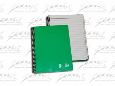 CUADERNO INDICE C/ESP  RO-SE RY * 84