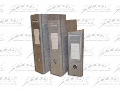 BIBLIORATO L/CARTON REGISTRADOR CAR/A4